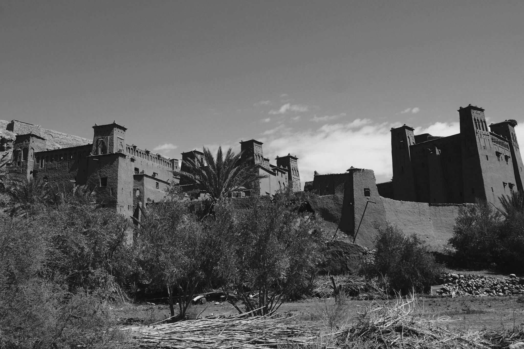 Un village fortifié